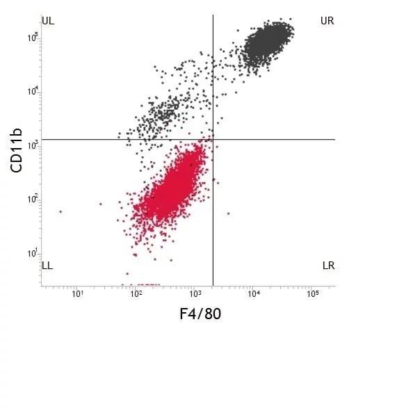 Flow Cytometry - Anti-F4/80 antibody [CI:A3-1] (FITC) (ab105155)