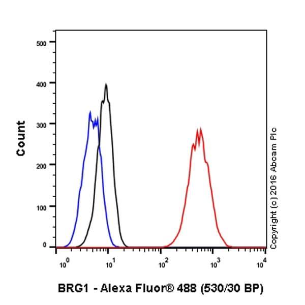 Flow Cytometry - Anti-BRG1 antibody [EPNCIR111A] (ab110641)