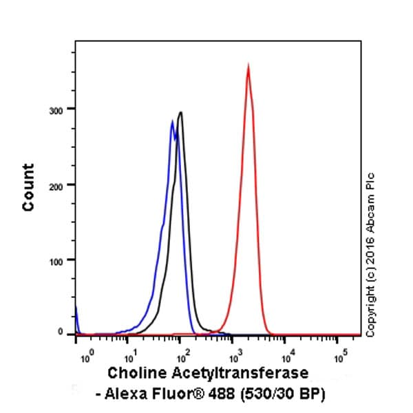 Flow Cytometry - Anti-Choline Acetyltransferase antibody [EPR13024(B)] (ab181023)