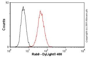 Flow Cytometry - Anti-Rab9 antibody [Mab9] (ab2810)