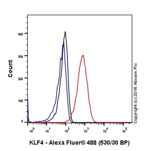 Flow Cytometry - Anti-KLF4 antibody [EPR19590] (ab215036)