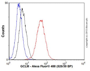 Flow Cytometry - Anti-GCLM antibody [EPR6667] - BSA and Azide free (ab248137)
