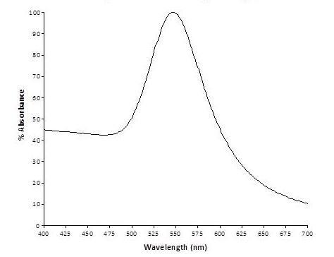 Spectrum - 80nm Gold Nanoparticles (10 OD) (ab269940)