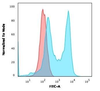 Flow Cytometry - Anti-CD6/T12 antibody [C6/2884R] (ab270271)