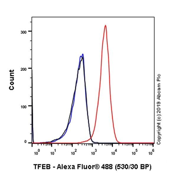 Flow Cytometry - Anti-TFEB antibody [EPR22940-151] (ab270604)
