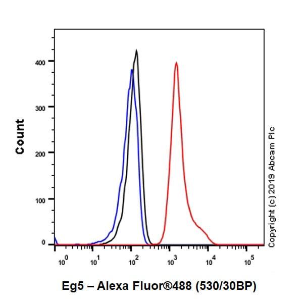 Flow Cytometry - Anti-Eg5 antibody [EPR23276-52] - BSA and Azide free (ab270754)