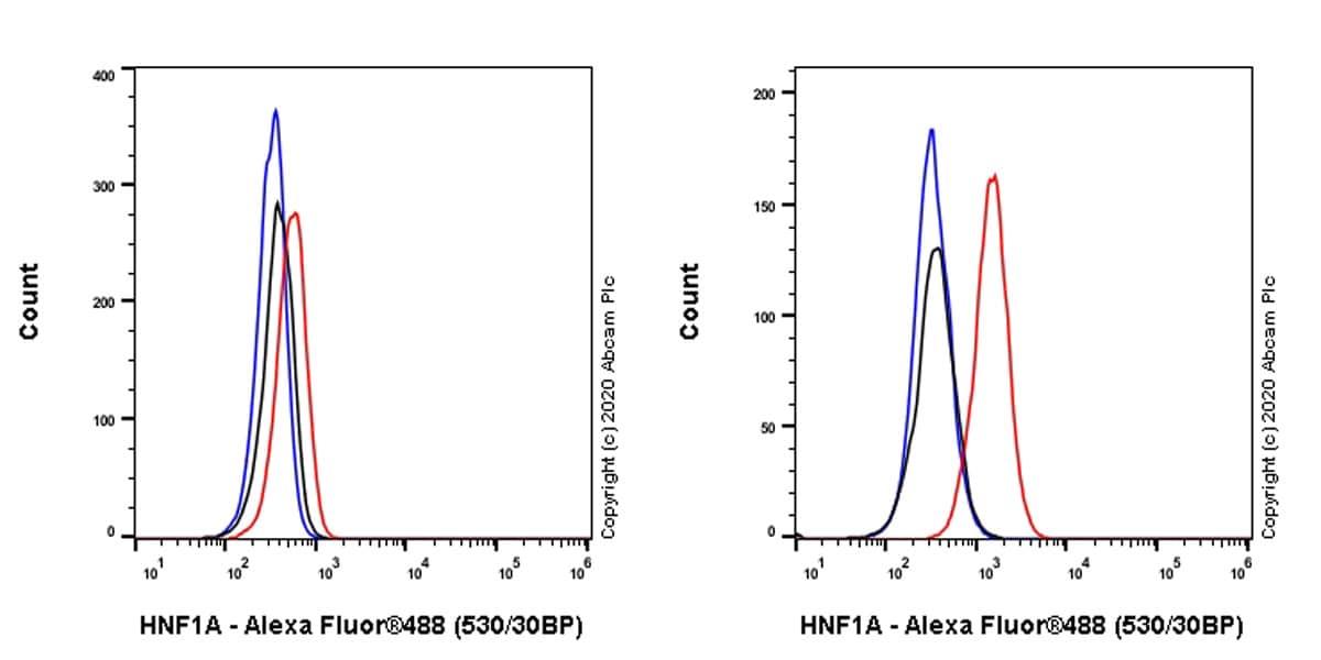 Flow Cytometry - Anti-HNF1 alpha antibody [EPR23054-108] (ab272693)
