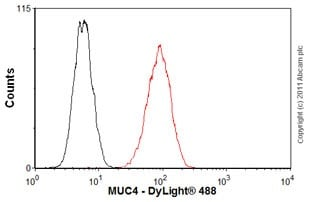 Flow Cytometry - Mouse IgG2a, Kappa Monoclonal [B12/8] - Isotype Control (ab91361)